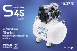 COMPRESSOR AR S45 1 CONSULT. 220V SCHUSTER