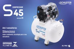 Compressor  ar S45 1 Consultorio 220V Schuster