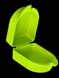 Caixa Para Aparelho Verde Glitter Ortodôntico - Indusbello