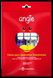 Caixa Para Aparelho Ortodôntico C/ 10 und -  Angie Angelus