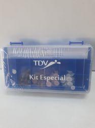 Kit Dentistica Acabamento e Polimento TDV Ref. 6100