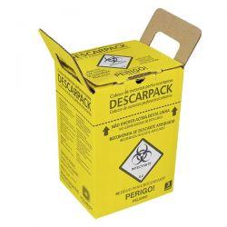Coletor de Material Perfuro Cortante 3 LT - Descarpack