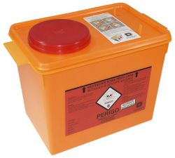 Coletor Rígido para Resíduos Tóxicos 7 LT - Descarpack