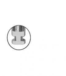 Broca Carbide Baixa Rotação  Esferica  CA - Angelus Prima