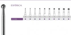 Broca Carbide Alta Rotação  Esferica FG  - Angelus Prima
