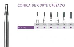 Broca Carbide Alta Rotação  Cônica Corte Cruzado  FG  - Angelus Prima