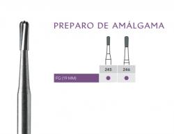 Broca Carbide Alta Rotação  Preparo Amalgama FG  - Angelus Prima