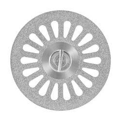 Disco Diamantado Dupla Face  Canulado 7012 - American Burrs