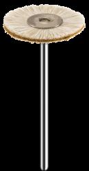 Escova Pelo de Cabra com Couro para  Polimento  PM (MSHS78W-1) - American Burrs