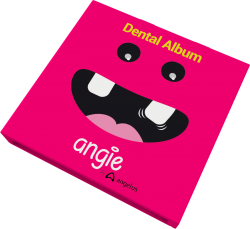 Álbum dental com estojo Premium- Angie By Angelus