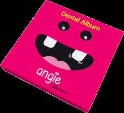 Álbum dental com estojo Premium- Angie By Angelus