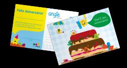 Cartão de Aniversário - Angie by Angelus