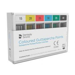 Guta Percha Calibrada Colorida 1º Serie   - Dentsply Sirona