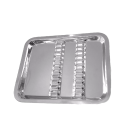 Bandeja Lisa - 22 X 17cm - 12 Divisórias (G292) - Golgran