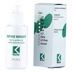 Resina Acrílica Refine Bright Pó - Kota
