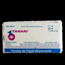 Ponta de Papel Absorvente Cell Pack- Tanari