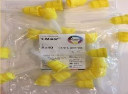Ponta Misturadora T-Mixer  Amarela 1:1/2:1 - Mixpac