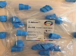 Ponta Misturadora T-Mixer Azul  1:1  -Mixpac